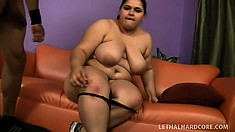 Chubby ebony babe Karla Lane needs to have a huge black dick banging her snatch