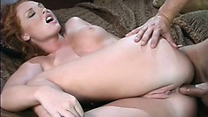 Roommate steals the horny red headed slut away in the night, for more fucking