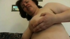 Mature BBW gets her lonely pussy pounded by a hung and willing guy