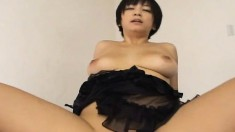 Big Breasted Japanese Cougar Gets Her Snatch Banged Hard And Creampied