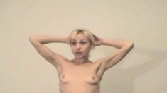 Blonde Hippie Girl Puts Her Slim Body On Display And Fucks A Hard Dick