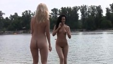 Public Bdsm And Outdoor Lesbian Domination