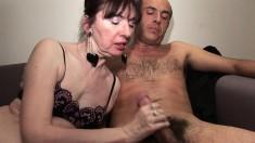 Sexy Amateur Getting A Hardcore Throat Massage