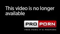 Blonde in black lingerie gives blowjob