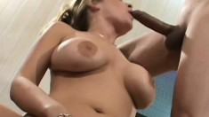 Vicious lusty vixen gets her sweet booty fucked by insatiable boys