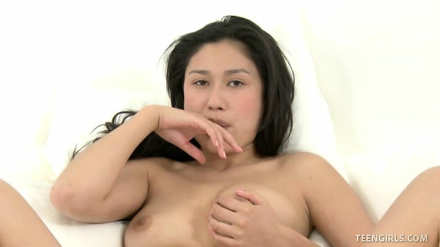 Shaved asian pussy perfectly