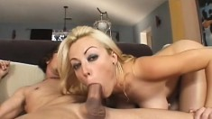 Sex-starved MILF gets satisfaction from riding a horny fucker