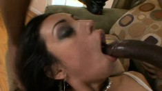 Paris Mayne has a huge black shaft exploring every inch of her pussy