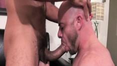 Hunky Antonio Biaggi and hot Ben Statham love having intense gay fun