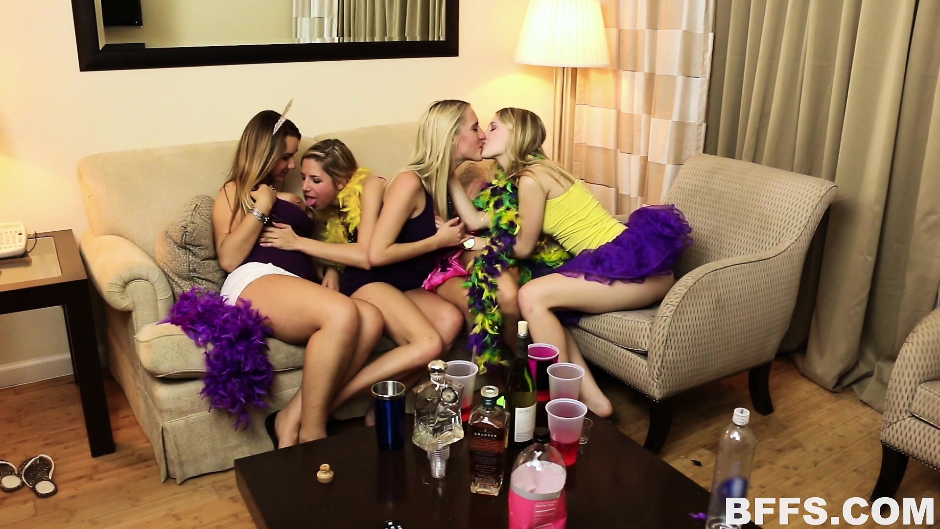 Sexy party girl videos the