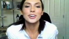 Three Teen Striptease On Webcam