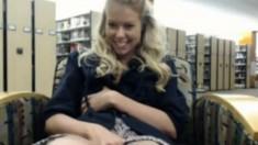 Amateur Teen Blonde in Public