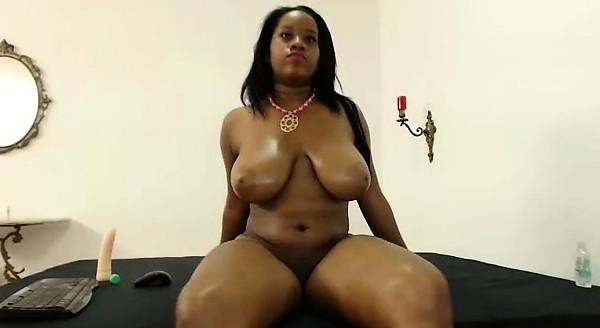 Huge ebony boobs webcam