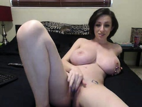 Curly Hair Brunette Big Tits
