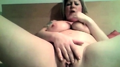 Blond Milf having orgasm