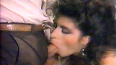 Vintage Blowjob Hairy Twat Fingering