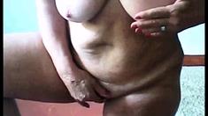 Sexy Grandma Fingering