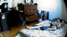 Spying A Girl Masturbating In Bed Bu Jls