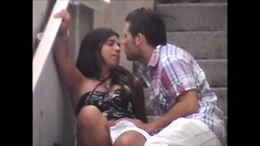 Reality Amateur Fingered And Fucked In Public