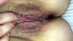 Closeup Pussy With Cum