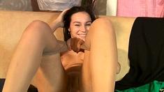 Teen Girl Solo Masturbation and Striptease 4