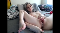 Splendid Blonde Teen Licking Her Bfs Hard Dick In Close Up