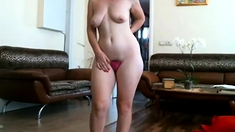 Sexy girl in C-String