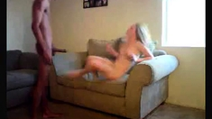 Fucking a horny prostitute - homemade