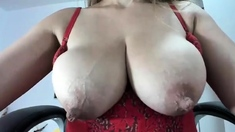 Milf with big nipples