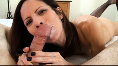 Real amateur pov girlfriend fuck and facial